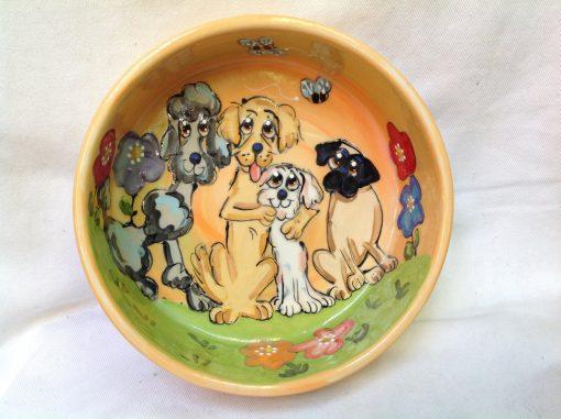 Poodle, Golden Retriever, Maltese, Pug Dog Bowl