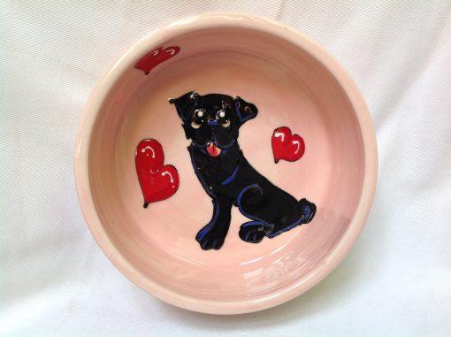 Pug Dog Bowl