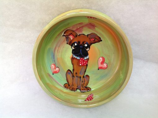 Brussels Griffon Dog Bowl