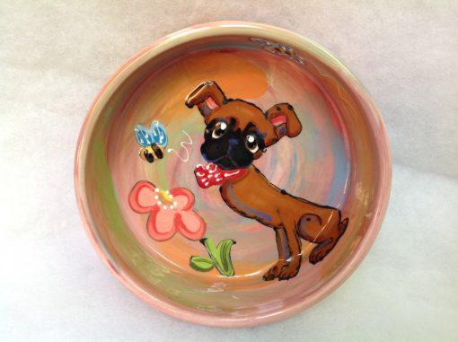 Brussels Griffon Dog Bowl