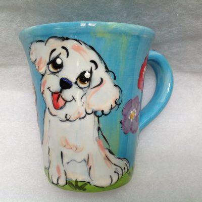 Bichon Mugs and Tall Lattes