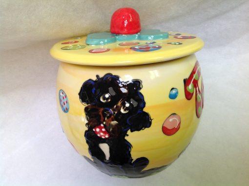 Portugese Waterdog Treat Jar