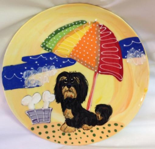 Havanese Dog Plate