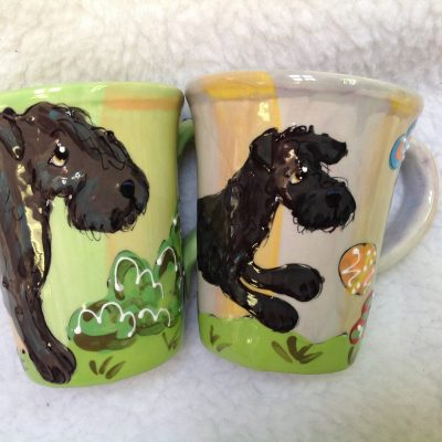 Kerry Blue Terrier Dog Mugs