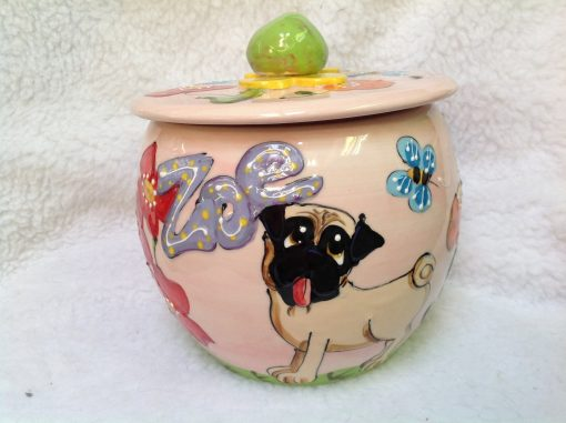 Pug Treat Jar