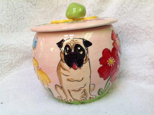 Pug Treat Jar