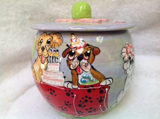 Bulldog Treat Jar