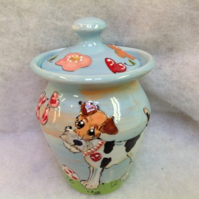 Airedale Terrier Pet Urn