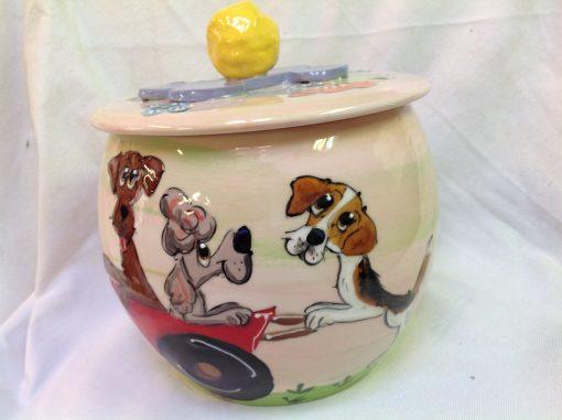 Beagle Treat Jar
