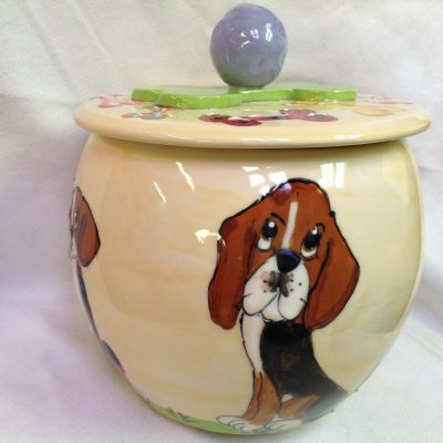 Beagle Treat Jar
