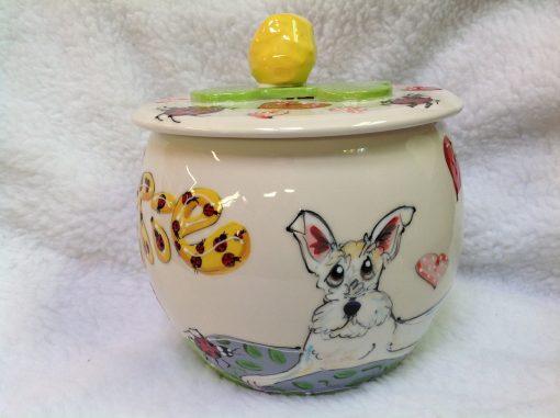 Scottish Terrier Treat Jar