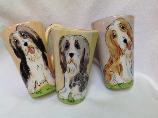 Bearded Collie Mugs and Tall Lattes