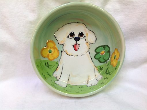 Bichon Dog Bowl