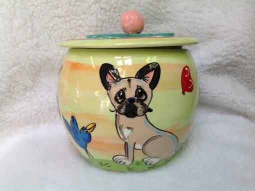 French Bulldog Treat Jar