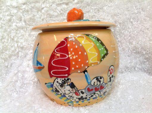 Dalmation Treat Jar
