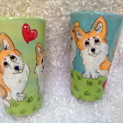 Welsh Corgi Mugs and Tall Lattes