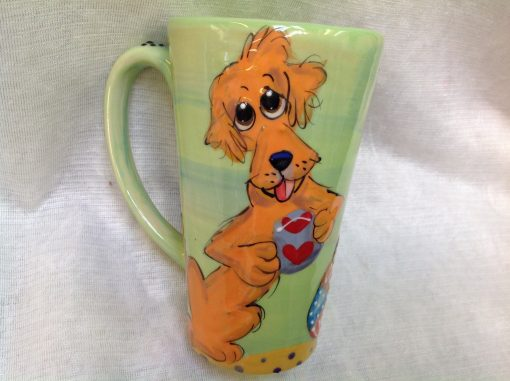 Golden Retriever Mugs and Tall Lattes
