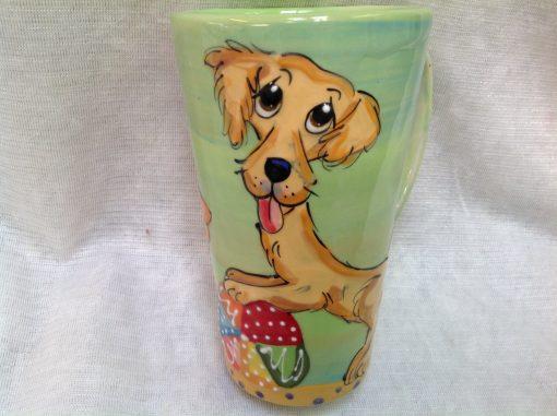 Golden Retriever Mugs and Tall Lattes