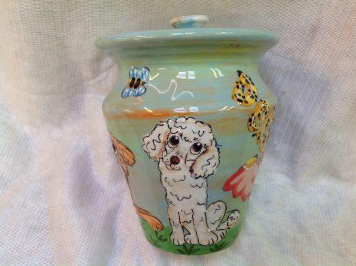 Golden Doodle Pet Urn
