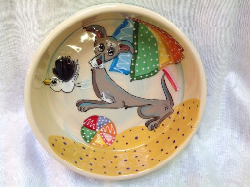 Italian Greyhound Dog Bowl