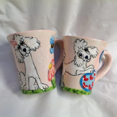 Poodle Coffee Mugs