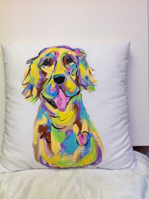 Golden Retriever Custom Pillow