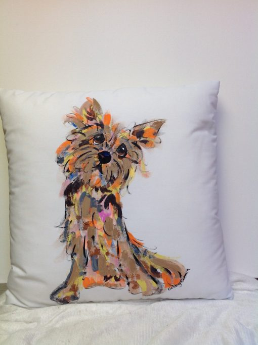 Cairn Terrier Custom Pillow