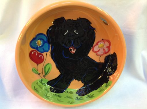 Chow Chow Dog Bowl