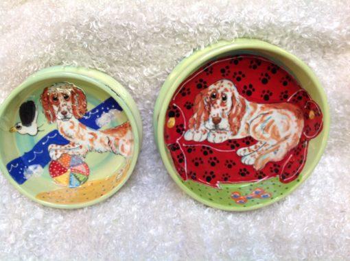 Clumber Spaniel Dog Bowl