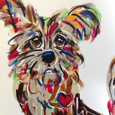 Cairn Terrier Whimsical Wall Art