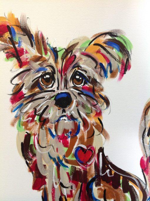 Cairn Terrier Whimsical Wall Art