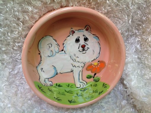 Samoyed Dog Bowl