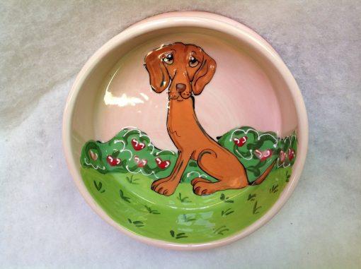 Hungarian Vizsla Dog Bowl