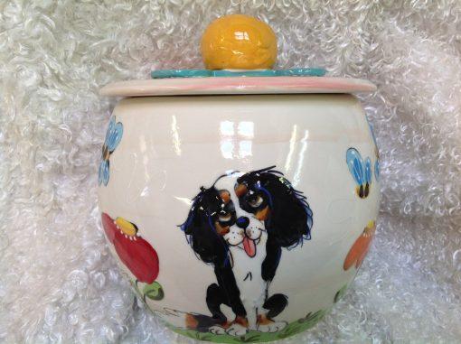 King Charles Cavalier Treat Jar
