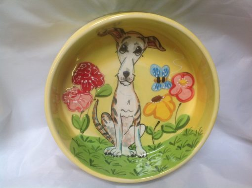 Italian Greyhound Dog Bowl