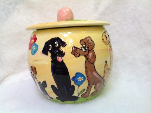 Labrador Treat Jar
