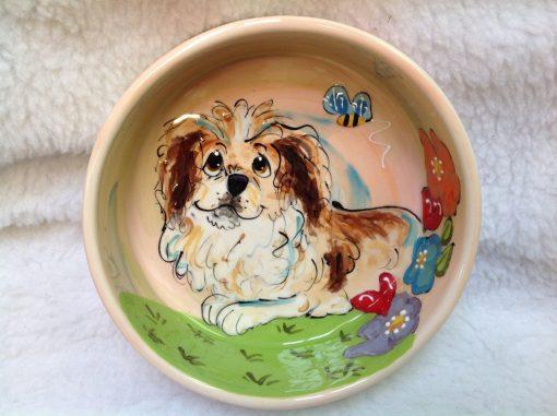 Pekingese Dog Bowl