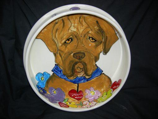 Dogue de Bordeaux Dog Bowl
