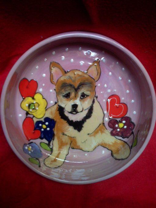 Sheba Inu Dog Bowl