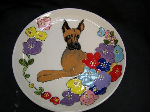 Great Dane Platter