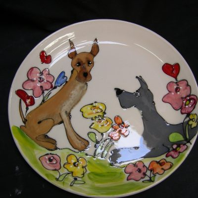Great Dane Platter
