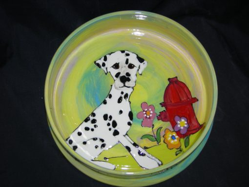 Dalmation Dog Bowl