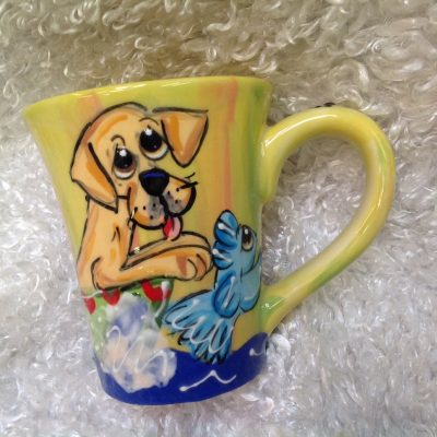 Yellow Labrador Mug