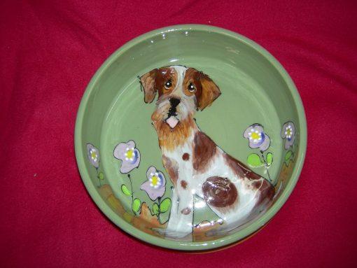 Irish Terrier  Dog Bowl