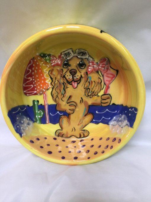 Cocker Spaniel Dog Bowl