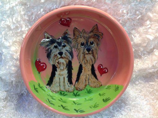 Cairn Terrier Dog Bowl