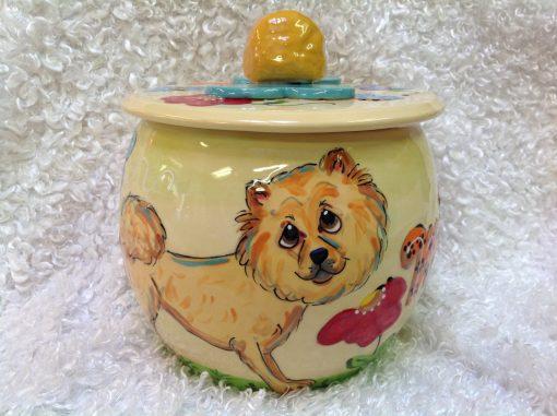 Chow Chow Treat Jar