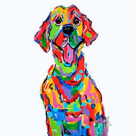 Labrador Dog Painting