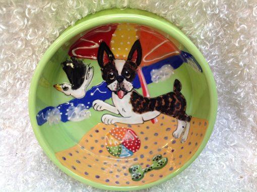 Boston Terrier Dog Bowl