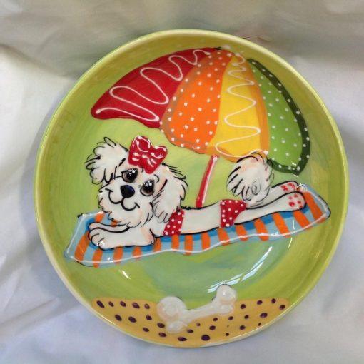 Maltese Dog Bowl